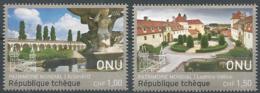 NU 2016 - Bureau De Genève - Patrimoine Mondial. La République Tchèque (2v) - Neufs
