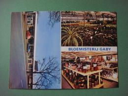 AARSCHOT - Carte Publicitaire Au Format Carte Postale - Bloemisterij Gaby - Steenweg Aarschot - Scherpenheuvel - Aarschot