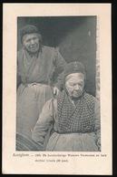 ALVELGEM   - 1905 DE HONDERDJARIGE WEDUWE VERMEULEN EN HARE DOCHTER URSULA  80 JAAR - Avelgem