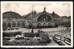 FRANKFURT Hauptbahnhof 1936 Versanden Nach Malang/ Nied. Indien. - Frankfurt A. Main