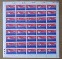 N°2560 :  Bicentenaire De La Révolution. Logotype De JM. Folon. - Volledige Vellen