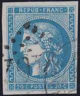 N°45A Position 13, Bel Exemplaire, TB. - 1870 Emission De Bordeaux