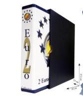 RACCOGLITORE MONETE DA 2 EURO COMMEMORATIVI Da COLLEZIONE Coins&More - Altri
