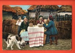 EBL-05 Types De La Petite Russie. View Of Russia. Used (in 1912 ?) To Switzerland. - Russia