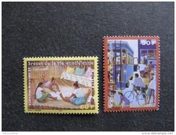 Polynésie: TB Paire N° 706 Et N° 707, Neufs XX. - Polynésie Française