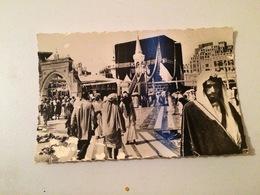 LA MECQUE-CARTE POSTALE   -LA KAABA-BAB IBNOU CHAIBA- MAKKAN IBRAHIM - Arabie Saoudite