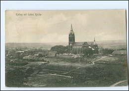 S1809/ Kielmy Kelme Litauen  AK  Kathol. Kirche   1915 - Litauen