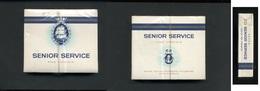 Ancien Paquet De Cigarettes SENIOR SERVICE (tabac De Virginie) - Cigarettes - Accessoires