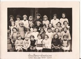 CARTE PHOTO SCOLAIRE 1951 - Sonstige Gemeinden