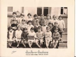 CARTE PHOTO SCOLAIRE 1963 - Sonstige Gemeinden