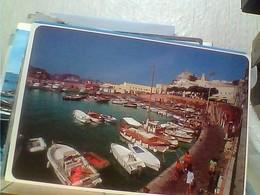 3 CARD PONZA PORTO  E SCOGLIO BARCHE MOTOSCAFO  VB1986/96  GZ6897 - Latina
