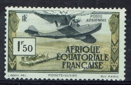 French Equatorial Africa (AEF), Pointe-Noire, 1f50, 1937, MNG VF Airmail - A.E.F. (1936-1958)