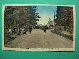 Banneux La Source Le Chemin Sacre Vers La Chapelle - Sprimont