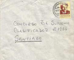 Chile 1975 Penaflur Albert Schweitzer Domestic Cover - Albert Schweitzer