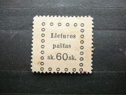 LiKaunas Issue (III) # Lietuva Lithuania Litauen Lituanie Litouwen # 1919 MH # Mi. 26 - Litouwen