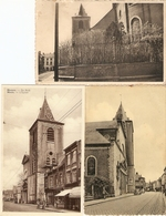 Meenen / Menin / Menen : Kerk ---- 3 Kaarten - Menen