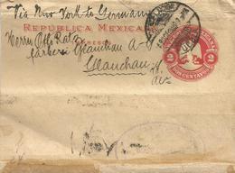 Mexico 1900 Puebla Newspaper Wrapper. Extremely Rare - Mexico
