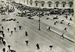 Russische Revolution Die Schießdemonstration Am 4. Juli 1917 Echte Fotopostkarte Der UdSSR - Russia