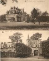 Oostcamp / Oostkamp : Château De Gruuthuze ---- 2 Kaarten - Oostkamp