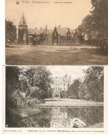 Oostcamp / Oostkamp : Château De Nieuwburgh ---- 2 Kaarten - Oostkamp