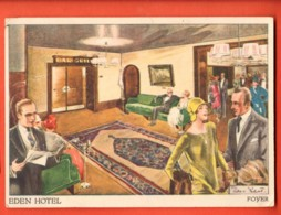 EBL-20  Hotel Eden Berlin West Gegenüber Dem Zoologischen Garten. Gross Format, Nicht Gelaufen, Flecke Am Rückseite - Hotels & Restaurants