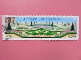 Timbre France YT 3389 - Les Jardins De Versailles- Hommage Au Jardinier Le Nôtre - 2001 - France