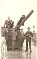 Zeebrugge : Bij En Op Het Kanon ( Fotokaart ) - Zeebrugge