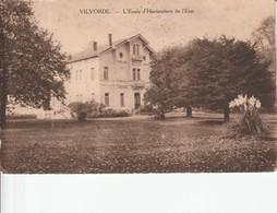 VILVOORDE ECOLE D'HORTICULTURE DE L'ETAT - Vilvoorde