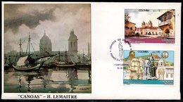 COLOMBIA- KOLUMBIEN - 1983 FDC/SPD. 450 YEARS OF CARTAGENA CITY. - Colombia