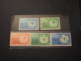 BRITISH A. T. - 1982 CLIMA 5 VALORI - NUOVI(++) - Territorio Antartico Britannico  (BAT)