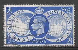 Great Britain 1949. Scott #276 (U) King George VI And UPU 75th Anniv * - 1902-1951 (Rois)
