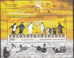 TAAF 2018 Bloc Feuillet Julien Gauthier Symphonie Australe Neuf ** - Blocs-feuillets