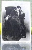 Schlafende Frau Repin 1945 Tretjakow-Galerie UdSSR Sehr Seltene Kunst Postkarte - Russia