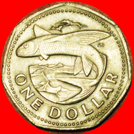 # GREAT BRITAIN FISH (1973-1986): BARBADOS ★ 1 DOLLAR 1973!  LOW START ★ NO RESERVE! - Barbades