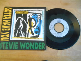 Steve Wonder - Gotta Have You - 1991 - 45 T - Maxi-Single