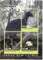 PAPUA NEW GUINEA- 2018- RARE BIRDS SHEETLET Of  3V- MNH ****  Rare Bird- Dusky Scrubfowl - Papúa Nueva Guinea
