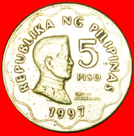 # BANK 1993: PHILIPPINES ★ 5 PISO 1997 CANADA! LOW START ★ NO RESERVE! - Philippines