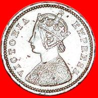 # QUEEN: INDIA ★ 1/12 ANNA 1883! LOW START ★ NO RESERVE! Victoria (1837-1901) - Inde