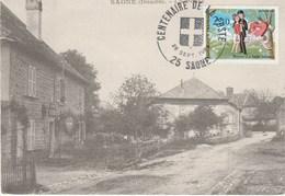SAONE  25 - N° 2354  OBLITERATION TEMPORAIRE - CENTENAIRE DE LA POSTE - Marcophilie (Lettres)