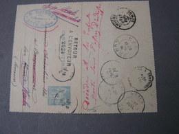 France, Kartenbrief  Zurück ..1891 - Ganzsachen