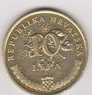 1999 Croazia - 10 Lipa Circolata (fronte E Retro) - Croatie