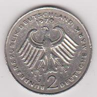 1970 Germania - 2 Marchi Circolata (fronte E Retro) - [ 6] 1949-1990 : RDA - Rep. Dem. Tedesca