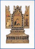 Simone Dei CROCIFISSI Connu à Bologne Vers 1355 Mort En 1399 - Triptyque-Reliquaire - Peintures & Tableaux
