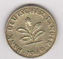 1949 Germania - 5 Pf Circolata (fronte E Retro) - [ 6] 1949-1990 : RDA - Rep. Dem. Tedesca