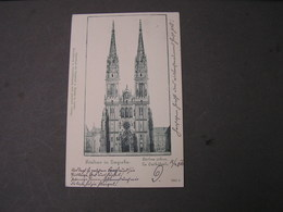 Zagreb , Kathedrale ..1911 - Jugoslawien