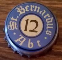 Belgique Capsule Bière Beer Crown Cap St. Bernardus ABT 12 - Bière