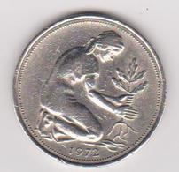 1972 Germania - 50 Pf Circolata (fronte E Retro) - [ 6] 1949-1990 : RDA - Rep. Dem. Tedesca