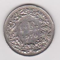 1970 Svizzara - 1 Fr Circolata (fronte E Retro) - Svizzera