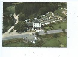 """Mortehan - Vue Aérienne De L'Hôtel-Restaurant """"La Vieille Ardenne"""" Et Son Camping - Bertrix"""