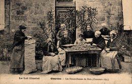 9882 -2018  GOURDON LES DENOISILLEUSES DE NOIX - Gourdon